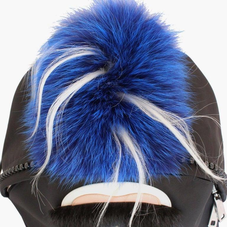 Women's or Men's Fendi Karlito Fur Backpack For Sale