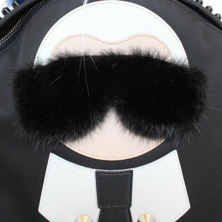 Fendi Karlito Fur Backpack For Sale 1