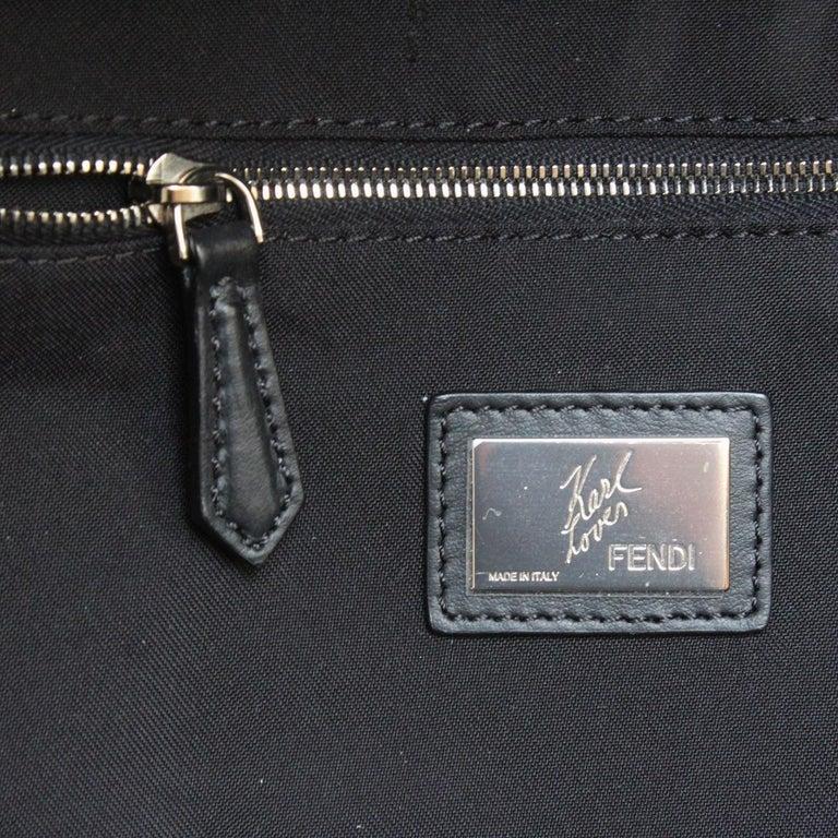 Fendi Karlito Fur Backpack For Sale 4