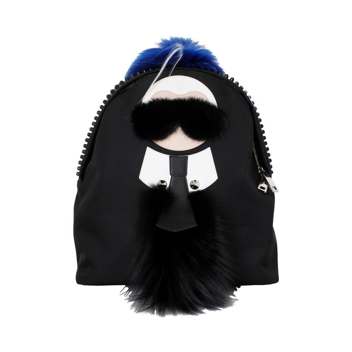 Fendi Karlito Fur Backpack