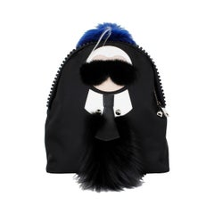 Fendi Karlito Fur Backpack