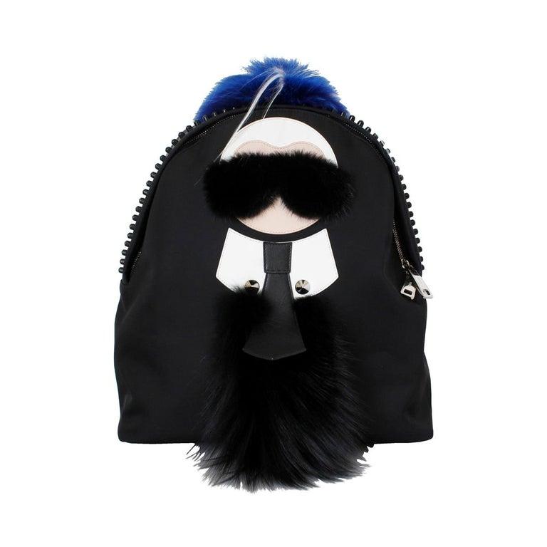 Fendi Karlito Fur Backpack For Sale