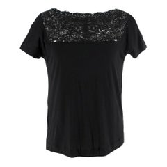 Fendi Lace Panelled Top SIZE 40