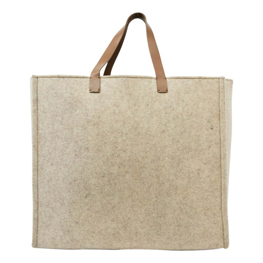 FENDI Large Beige Tote Bag