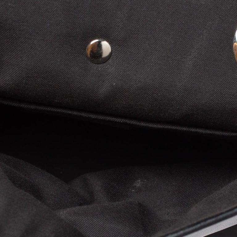 Fendi Leather Mini Mink Pom Pom Back To School Backpack For Sale 7