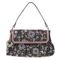 Fendi Limited Edition Zucca Borsa Embroidered Chef Bag
