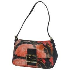 FENDI ma MMa bucket handbag Womens shoulder bag pink x black