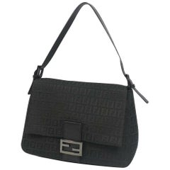 FENDI ma MMa bucket Zucchino Womens handbag black