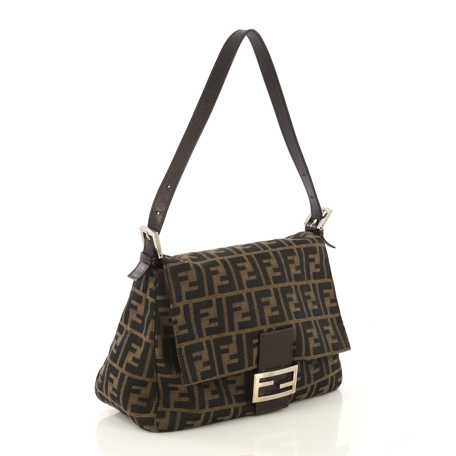 8a65e02557 Fendi Mama Forever Bag Zucca Canvas at 1stdibs