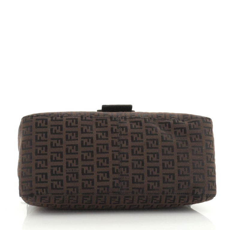 Fendi Mama Forever Bag Zucca Canvas In Good Condition For Sale In New York, NY