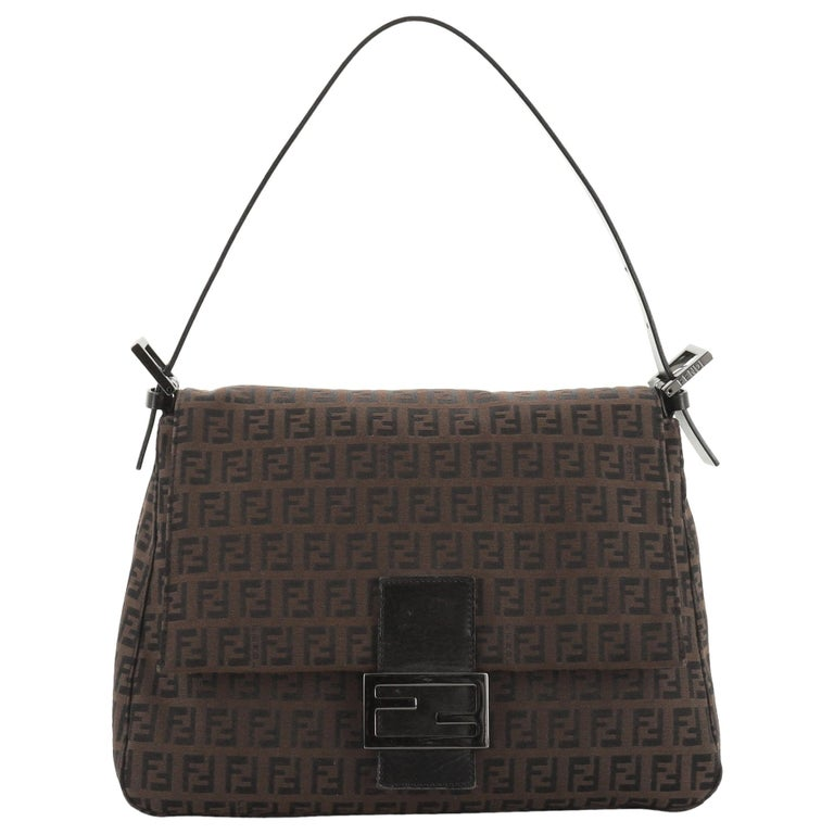 Fendi Mama Forever Bag Zucca Canvas For Sale