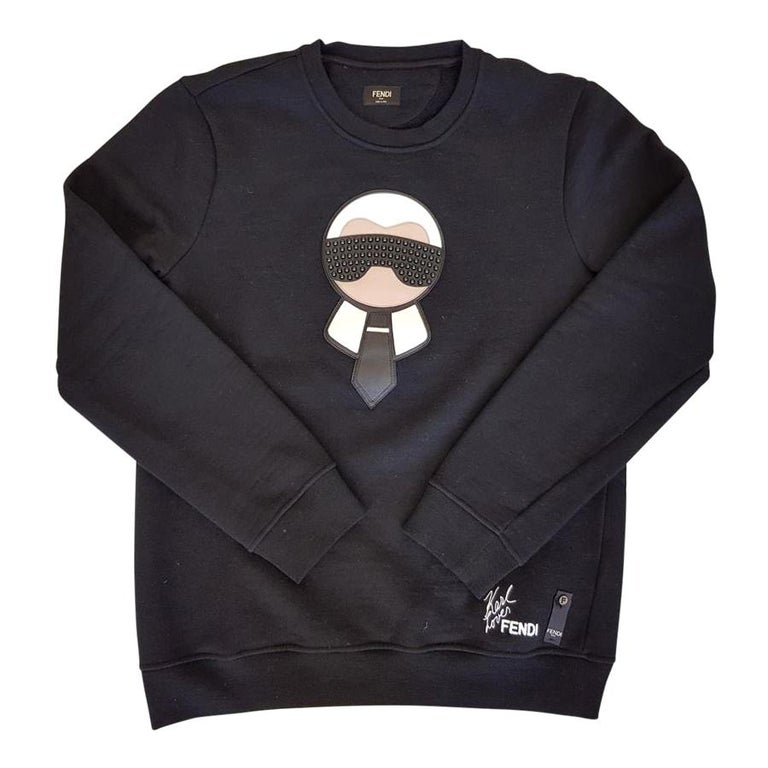 "Fendi Man ""Karlito"" Sweater IT52 For Sale"