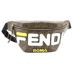 Fendi Mania Waist Bag Zucca Coated Canvas