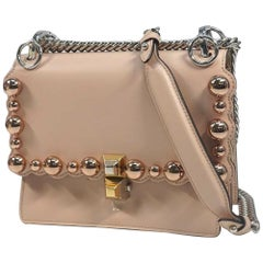 FENDI Mini shoulder Mini Kan I Womens shoulder bag 8M0381 pink