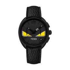 Fendi Momento Fendi Bugs Black Dial Watch F214611611D1