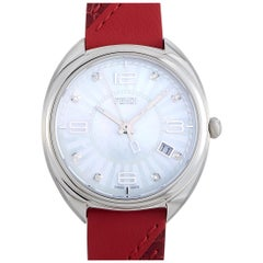 Fendi Momento Mother of Pearl Dial Stainless Steel Watch F217034573D1