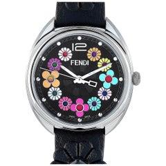 Fendi Momento Multi-Colored Flower Quartz Watch F234031011