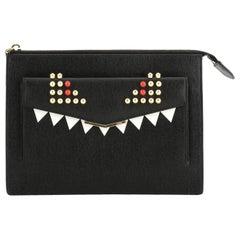 Fendi Monster Crossbody Bag Leather