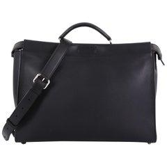 Fendi Monster Selleria Peekaboo Bag Leather XL