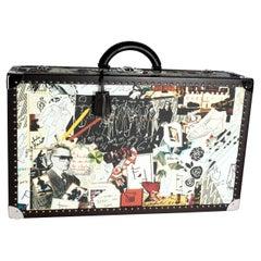 Fendi Multicolor Karl Kollage Travel Trunk