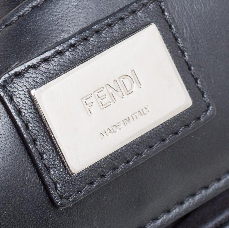 Fendi Multicolor Leather Be Baguette Shoulder Bag For Sale 3