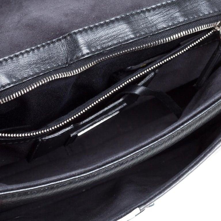 Fendi Multicolor Leather Be Baguette Shoulder Bag For Sale 4