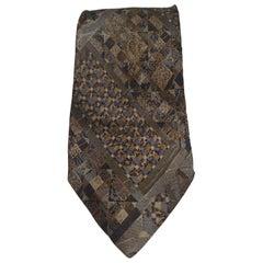 Fendi multicoloured vintage silk tie