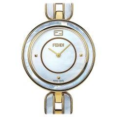 Fendi My Way Mother of Pearl Quartz Watch F361434500