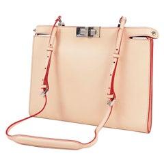 FENDI one shoulder Womens shoulder bag pink