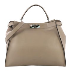 Fendi Peekaboo Bag Leather Large