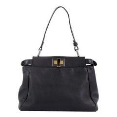 Fendi Peekaboo Bag Leather Mini
