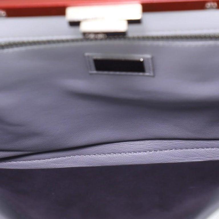 Women's or Men's Fendi Peekaboo Bag Rigid Leather Regular