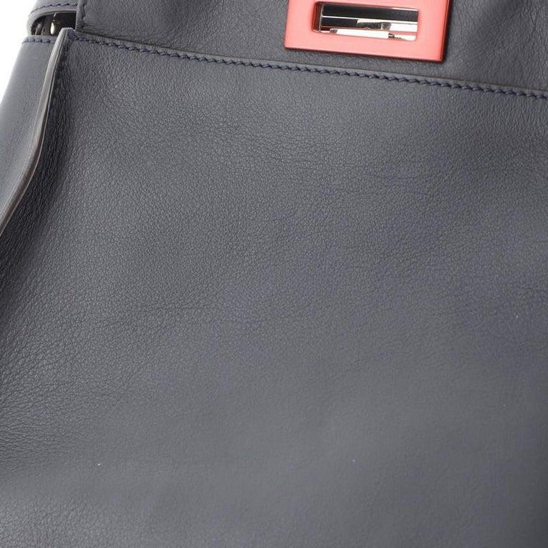 Fendi Peekaboo Bag Rigid Leather Regular  1