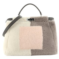 Fendi Peekaboo Bag Shearling Large