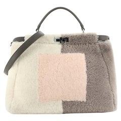 Fendi Peekaboo Bag Shearling Large