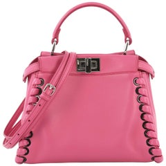64d7e825d7 Fendi Pink Leather Selleria Crossbody Bag Italy For Sale at 1stdibs
