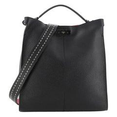 Fendi Peekaboo X-Lite Fit Bag Leather