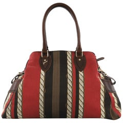 Fendi Pequin Bag de Jour Printed Canvas Large