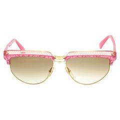 Fendi Pink Vintage Sunglasses