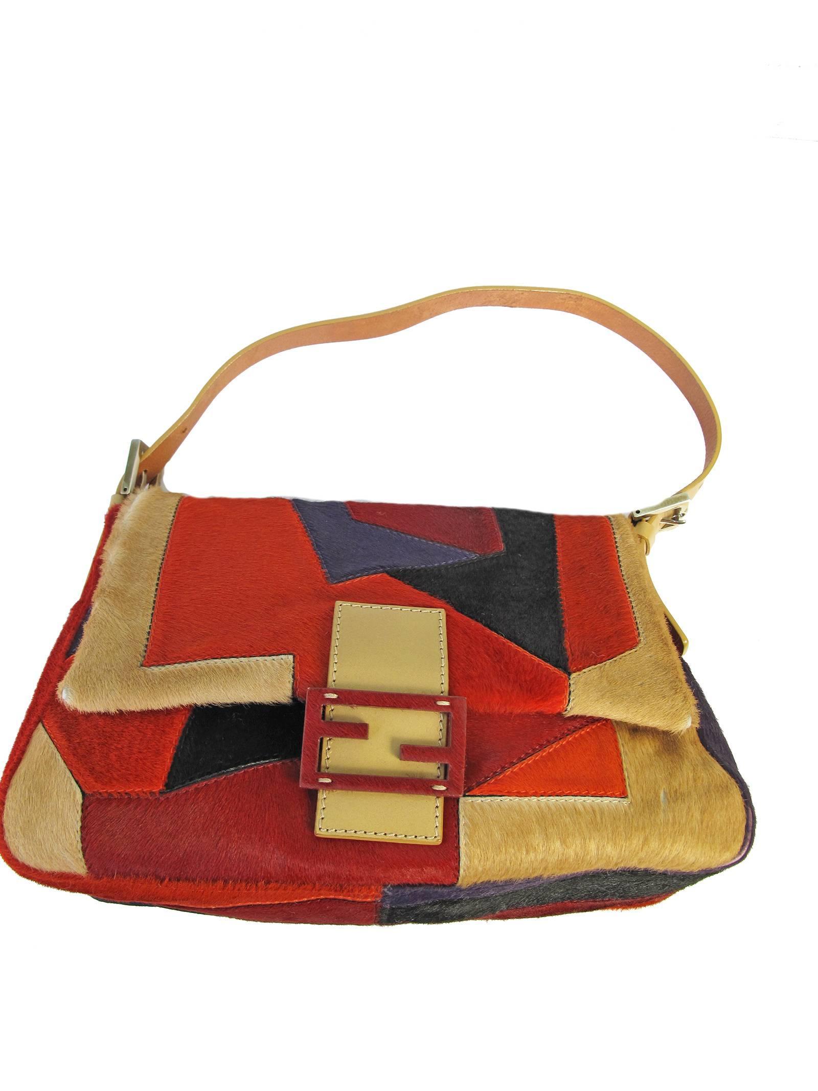 Fendi Pony Geometric Bag gDnDliCN
