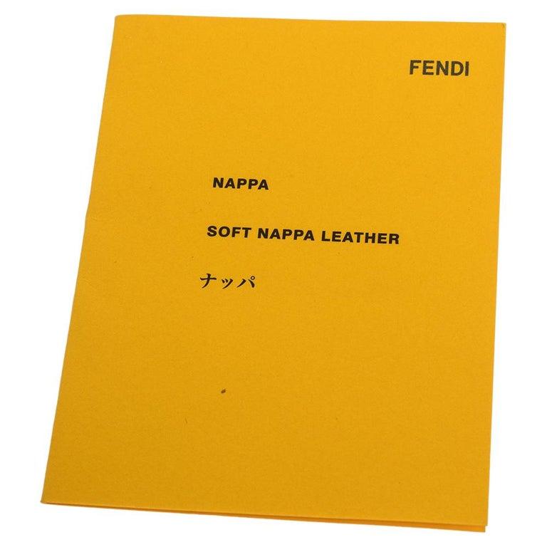 Fendi Purple Leather Mini Spy Hobo For Sale 7