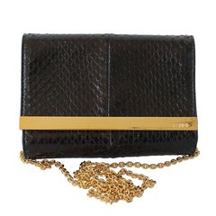 Fendi Python Mini Rush Bag