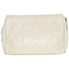 Fendi Quilted Beige Pasta Collection Bag