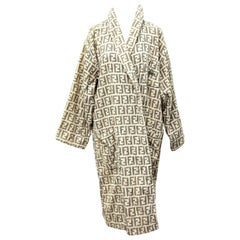 Fendi Rare bathrobe with Iconic FF Logos