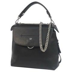 FENDI ruck sack handbag Back To School 3WAY Womens shoulder bag 8BZ042 black