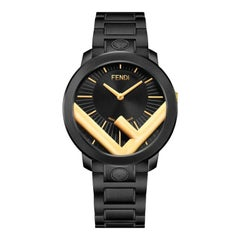 Fendi Run Away Black Dial Watch F713111000