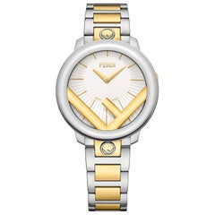 Fendi Run Away Two-Tone Watch F711134000