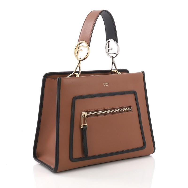 7ce17bd1521f Fendi Runaway Handbag Leather Small For Sale at 1stdibs