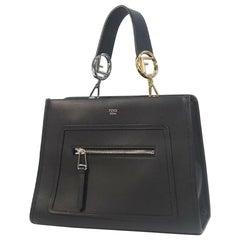 FENDI Runaway Womens handbag 8BH344 black
