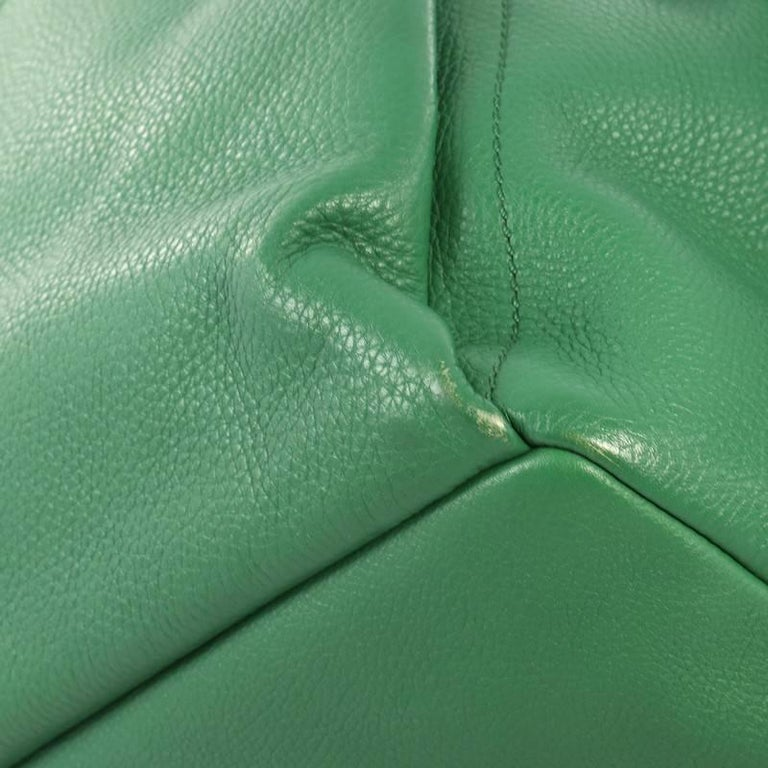 Fendi Selleria Backpack Leather with Crocodile Embossed Tail Medium For Sale 2